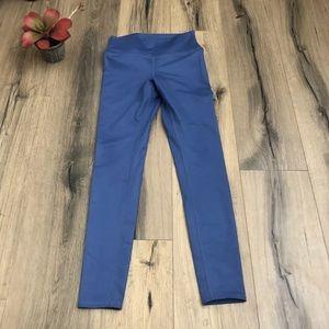 ALO High Waist Blue Leggings M/L Full Length
